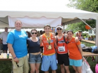 Myself, Alix Marcus, Jake Marcus, Coach/Mentor Chris Mullins, and Endurance Manager Alison Magier Rosenfeld at Virginia